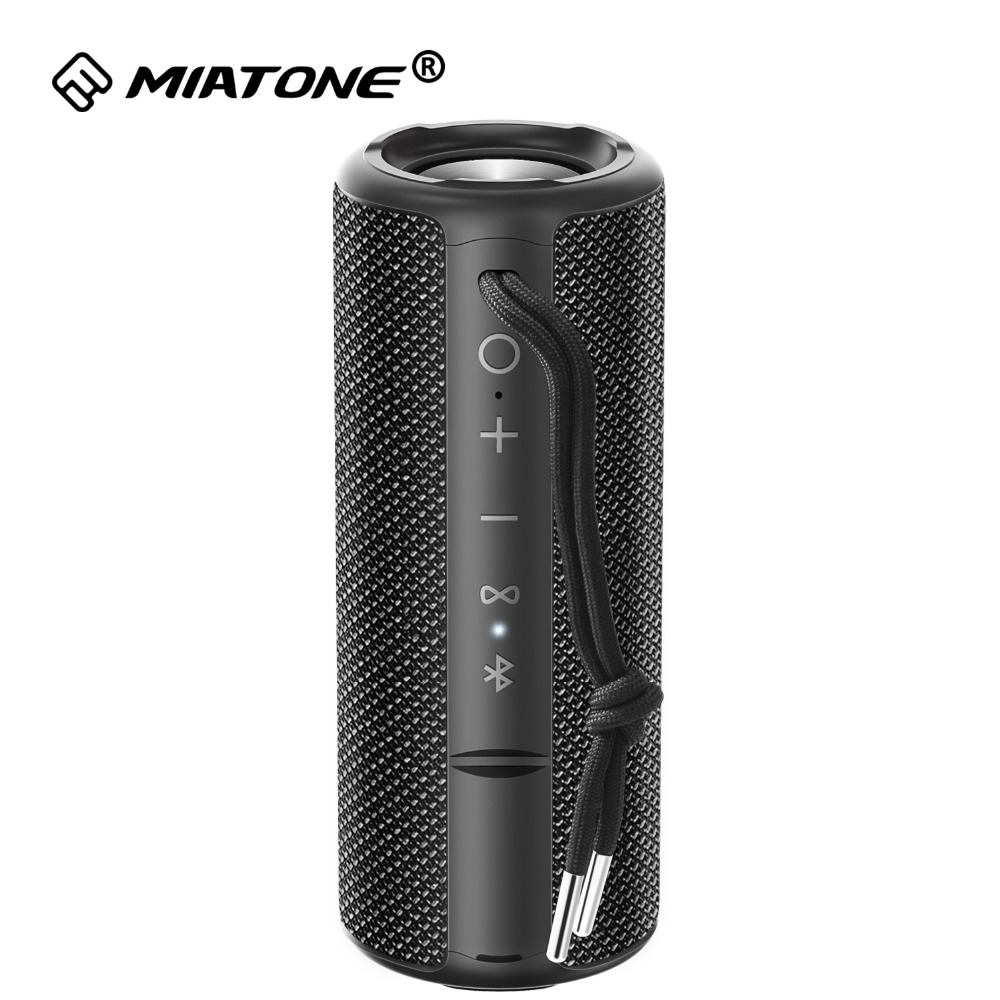 Wireless TWS Bluetooth Speaker With Stereo Superior HD Sound And Bass, Portable IPX6 Water-Resistant Mini Subwoofer Speaker