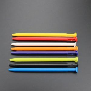 Image 2 - TingDong 200 adet/grup çok renkli plastik ekran dokunmatik stylus kalem yeni Nintendo yeni 3DS