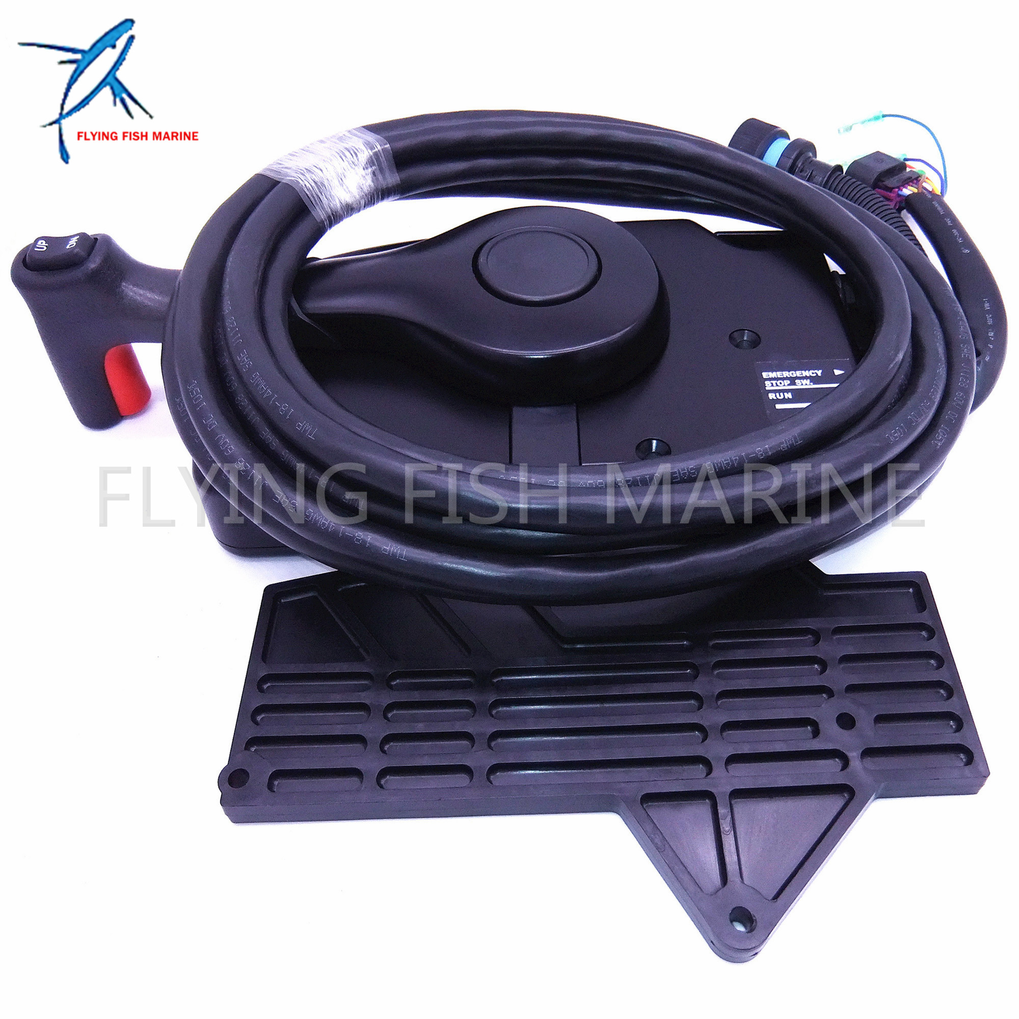 Boat Motor Side Mount Remote Control Box 881170A13 With 14 Pin for Mercury Outboard Engine 14 Pin,Free Shipping