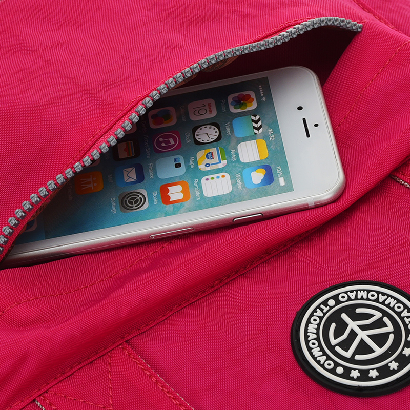 Qadın Sırt çantası Yüksək keyfiyyətli Neylon Məktəb - Bel çantaları - Fotoqrafiya 3