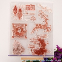 embossing folders encre scrapbooking ACRYLIC VINTAGE clear stamps FOR PHOTO SCRAPBOOKING stamp clear stamps for scrapbooking 44