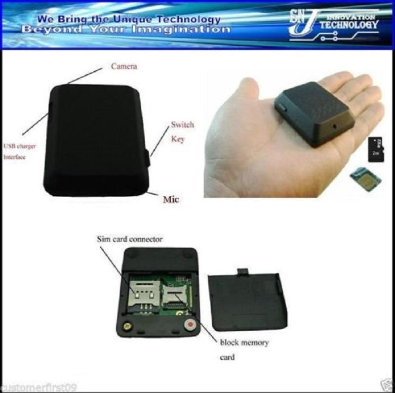 El mejor X009 Mini cámara Monitor de video SOS GPS DV GSM Micro - Electrónica del Automóvil - foto 4