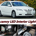 12pcs X free shipping Error Free LED Interior Light Kit Package for Camry 40 accessories 2006-2011