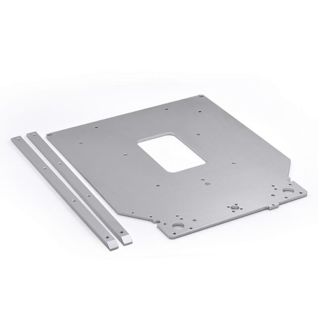 Free shipping Ultimaker 2 UM2 Z Table Base Plate platform bracket supporting aluminum heated hot bed