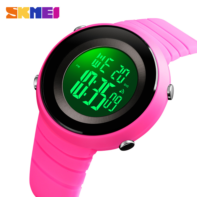Women Sports Watches Outdoor Sport Waterproof LED Kids Watch Military Multifunction Boy Girl Wristwatch Reloj Mujer SKMEI 2019