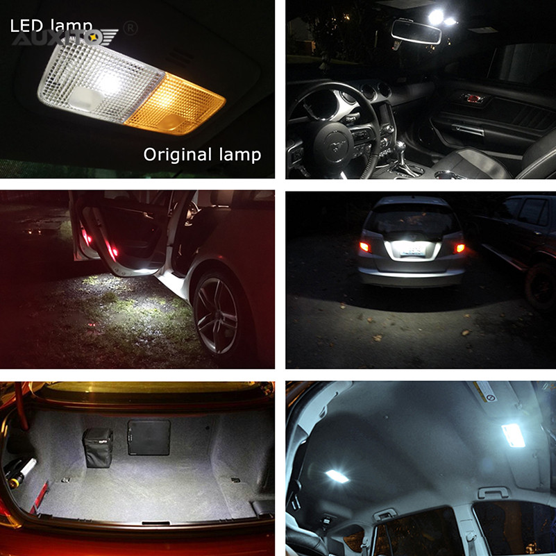 21x Voor BMW E90 E91 E92 2006 2017 Canbus Auto LED Verlichting ...