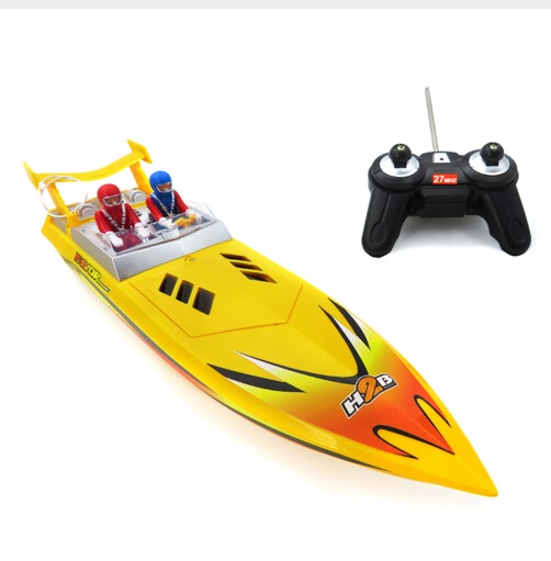 Flytec HQ5011 15km/h Speedboat Infrared Remote Control Boat High Speed Electric RC Boat Ship Toys