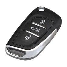 3 Кнопки Дистанционного Ключа VA2 Лезвия 433 мГц PCF7961 Транспондер Чипсы Батареи Для Peugeot CE0536 СПРОСИТЬ Ремонт Автомобилей Ключ