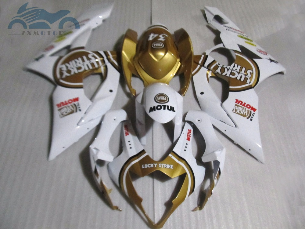 High quality <font><b>Fairing</b></font> kits for <font><b>Suzuki</b></font> GSXR 1000 2005 2006 <font><b>GSXR1000</b></font> ABS sport <font><b>fairings</b></font> set 05 06 K5 <font><b>K6</b></font> red golden HQ32 image
