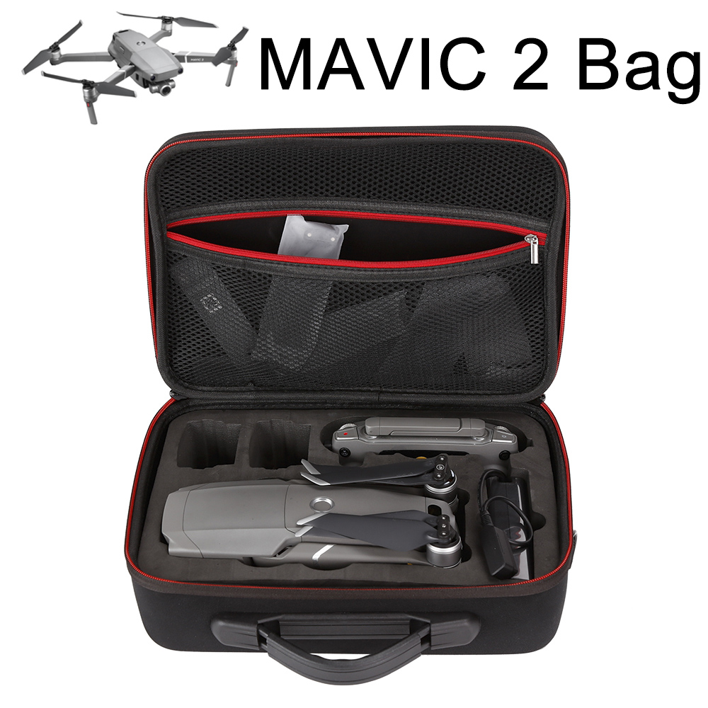 Portable Mavic 2 Pro Storage Bag Hard Shell Suitcase Carrying Case Shoulder Bag for DJI Mavic 2 Pro Zoom Drone Handbag Cover Box portable carry storage case shoulder bag backpack for dji mavic air pro drone