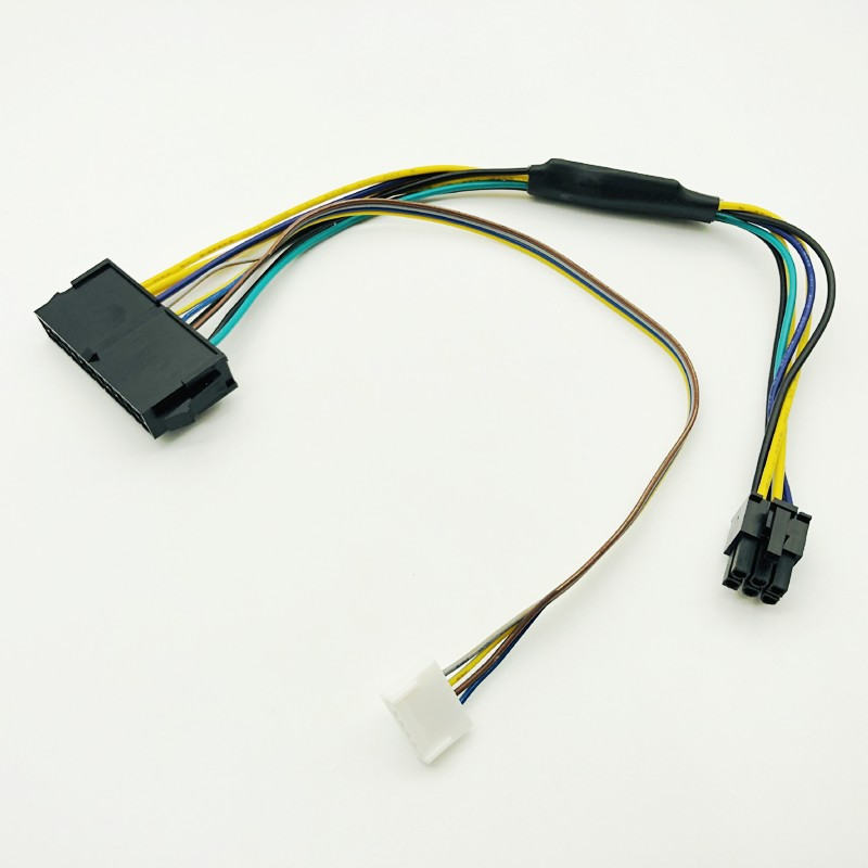 Модульный блок питания ATX, 30 см, 24 контакта, 24 контакта, разъем «гнездо» на 6 контактов «папа», мини-6-контактный разъем для HP Elite 8100 8200 8300 800G1