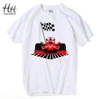 HanHent Automobile Racing Printed T Shirts Men Streetwear Hip Hop Man S TShirt Cotton Fitness Games