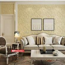 Attractive ZXqz 151 Europe Elegant Acanthus Leaf Non Woven Wallpaper Wall Decor Simple  Wallpapers Papel De