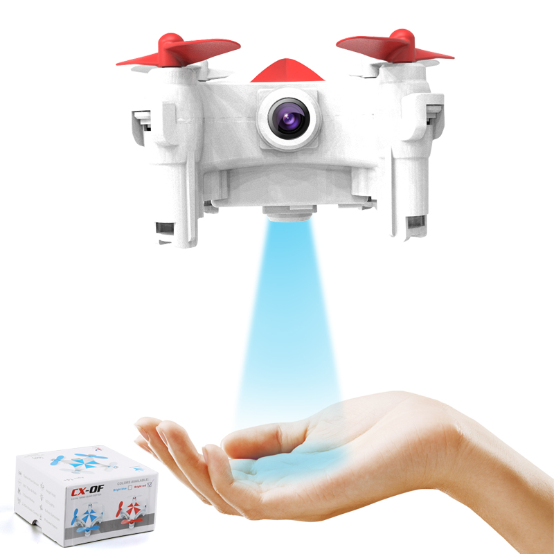 New Hot RC Mini Drones with WIFi Camera Selfie Drone CX-OF Optical Flow Sensor Quadcopter LED Flash Light RC Helicopters Toys jjr c jjrc h43wh h43 selfie elfie wifi fpv with hd camera altitude hold headless mode foldable arm rc quadcopter drone h37 mini