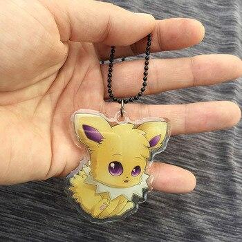 Аниме акриловый кулон и брелок Pokemon Go Джолтеон