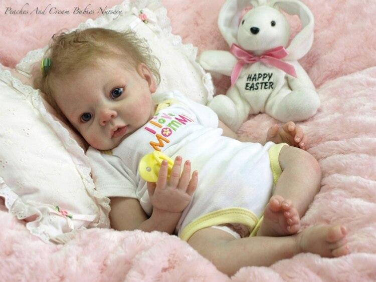 free shipping 2014 NEW hotsale doll kit wholesale DIY blank kit soft vinyl reborn doll kit