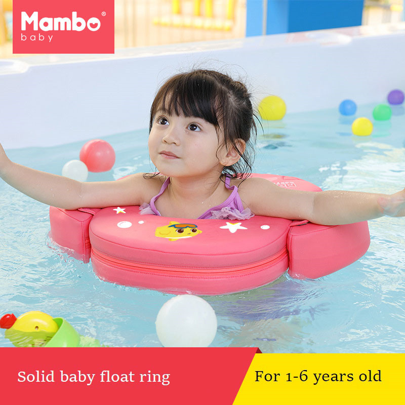 Baby Swimming Ring Free Inflatable Infant Armpit Floating Kids Swim Pool Accessories Circle Bathing Solid Double Raft Rings Toy