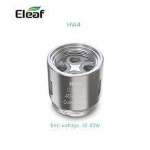 Eleaf катушки HW3 тройной цилиндр 0.2ohm катушки/HW4 Quad-цилиндр 0.3ohm головка для Элло мини/Элло мини XL распылителя elektronik пикантная закуска sigara