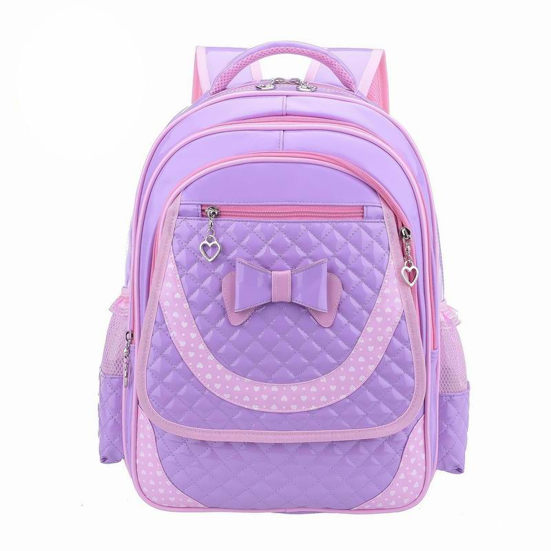 Lovely New Primary school backpacks kids Children school bags for girls PU leather waterproof backpack for