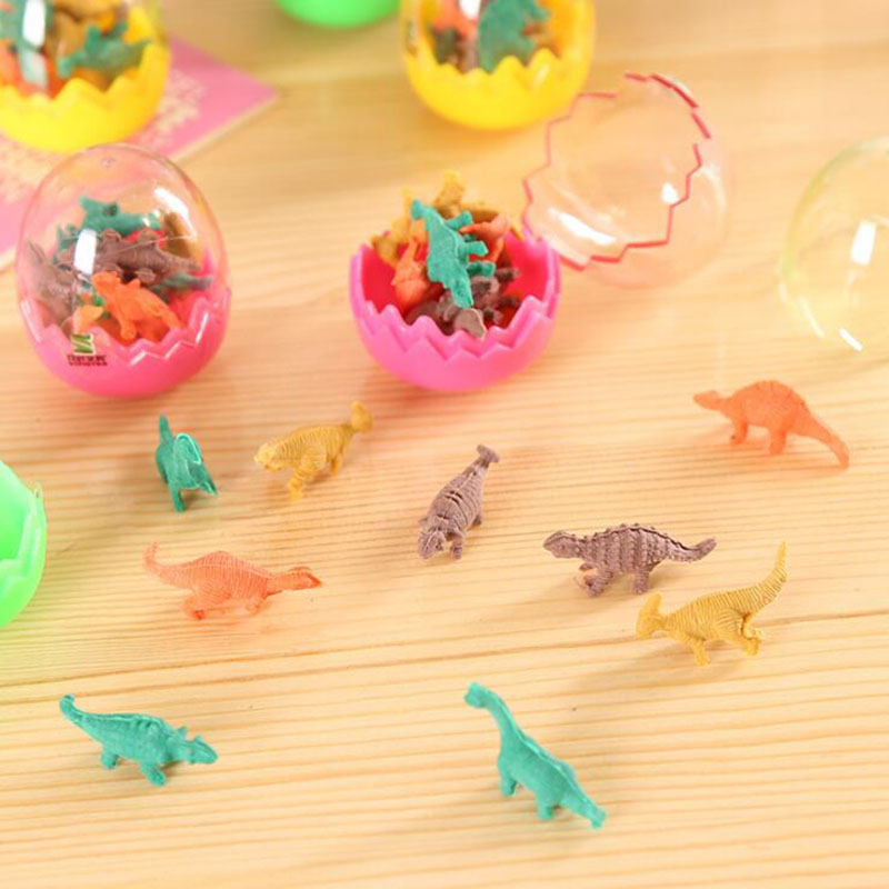 Creative Dinosaurs Egg Pencil Eraser For Kids Gift Stationery Students Office Fast Color Eraser Pens, Pencils & Writing Supplies