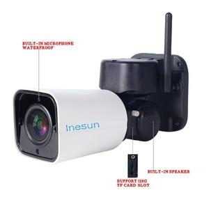 Image 4 - Inesun Outdoor WiFi IP Security Camera 1080P IP Camera WiFi 4X Zoom PTZ Camera 120ft IR Night Vision Two Way Audio 128G SD Card