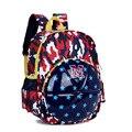 3D Camouflage Cartoon Backpack Children School Bags Boys Girls School Backpacks Kids Kindergarten Bag