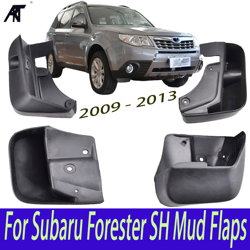 Car Mud Flaps For Subaru Forester SH 2008- 2013 Mudflaps Splash Guards Mud Flap Mudguards Fender Front Rear 2010 2012 for ford explorer 2013 2018 plastic more fashion front rear mud guard mudguards splash flaps cover protector trim 4 piece
