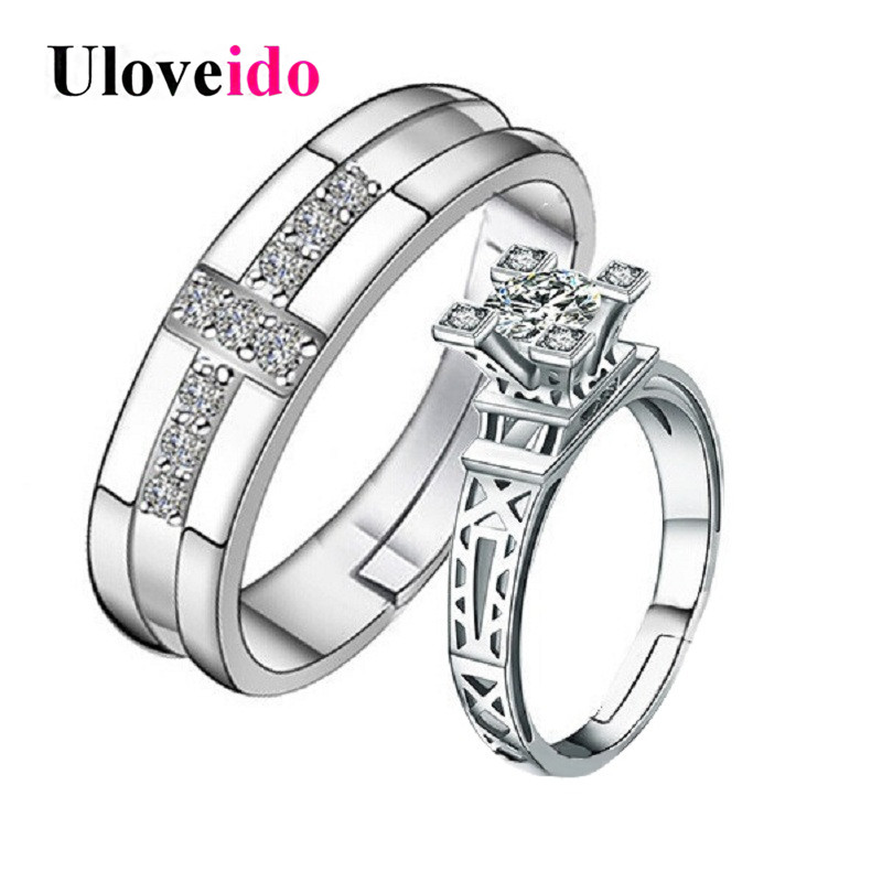 adjustable wedding ring aliexpress buy uloveido adjustable ring rings 1209