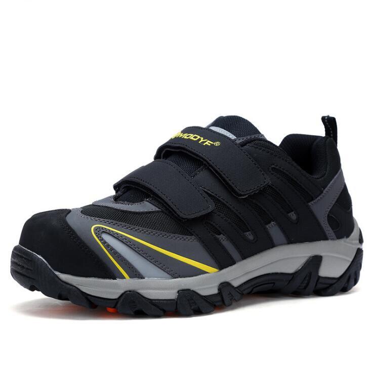 Soudeur Travail Xek Anti En Acier écrasement Occasionnel Sécurité De Embout Chaussures D'été Noir Respirant Léger Wyq32 rshCQtd