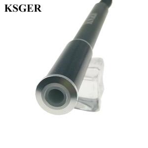 Image 5 - KSGER T12 Aluminium Legierung FX9501 Griff STM32 OLED Lötkolben Station Schweißen Tipps Reparatur Elektronische Werkzeuge V 2,1 S V 3,0 V 2,01