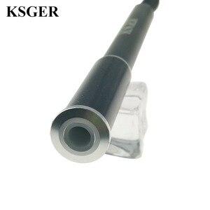 Image 5 - Ksger estação de solda, t12 liga de alumínio fx9501 pega stm32 oled ferro de solda estação de solda pontas de solda reparo ferramentas eletrônicas v2.1s v3.0 v2.01