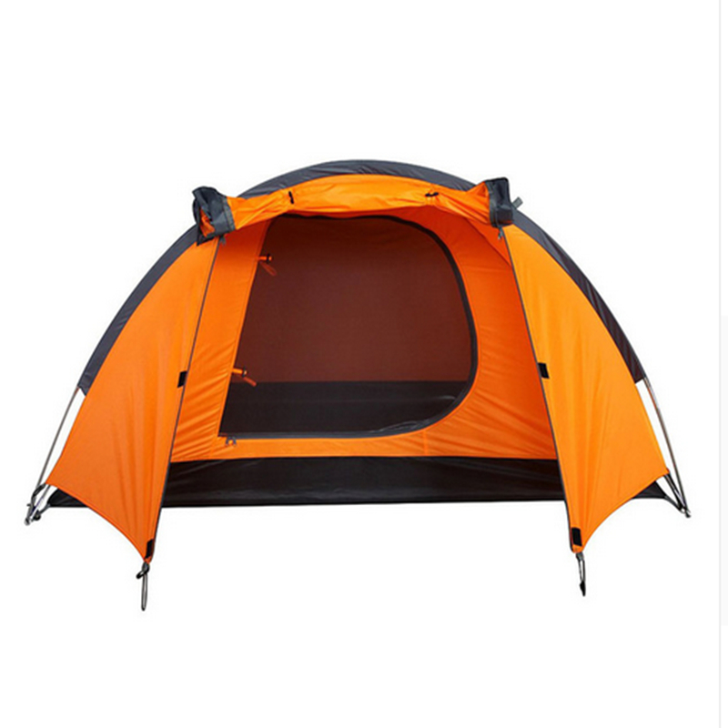 2-3 person Outdoor Camping Tent Hiking Beach Tent Tourist Bedroom Tent outdoor waterproof folding ultralight camping tent 1 2 person double door fishing tourist tent beach tent hiking family tent