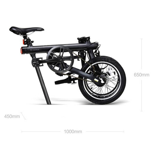 Xiaomi QiCYCLE – EF1 Folding Electric Bike Bluetooth Smart Electric Bicycle 16inch Bicycle Support APP 100%