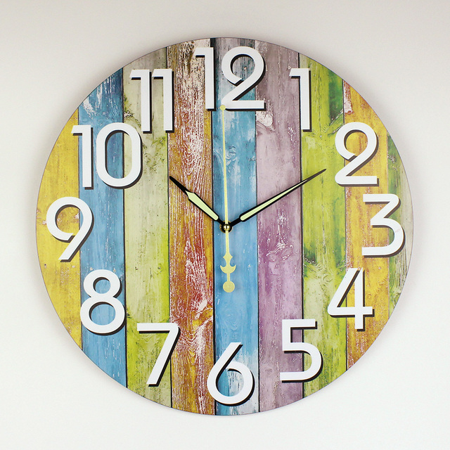 Modern Home Decoration Watch Wall Warranty 3 Years Silent Large Decorative Wall Clock Modern Design For Living Room Wall Decor