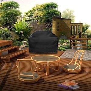 Image 4 - Große Größe Outdoor BBQ Grill Abdeckungen Gas Heavy Duty für Home Terrasse Garten Lagerung Wasserdichte Grill Grill Abdeckung BBQ Zubehör