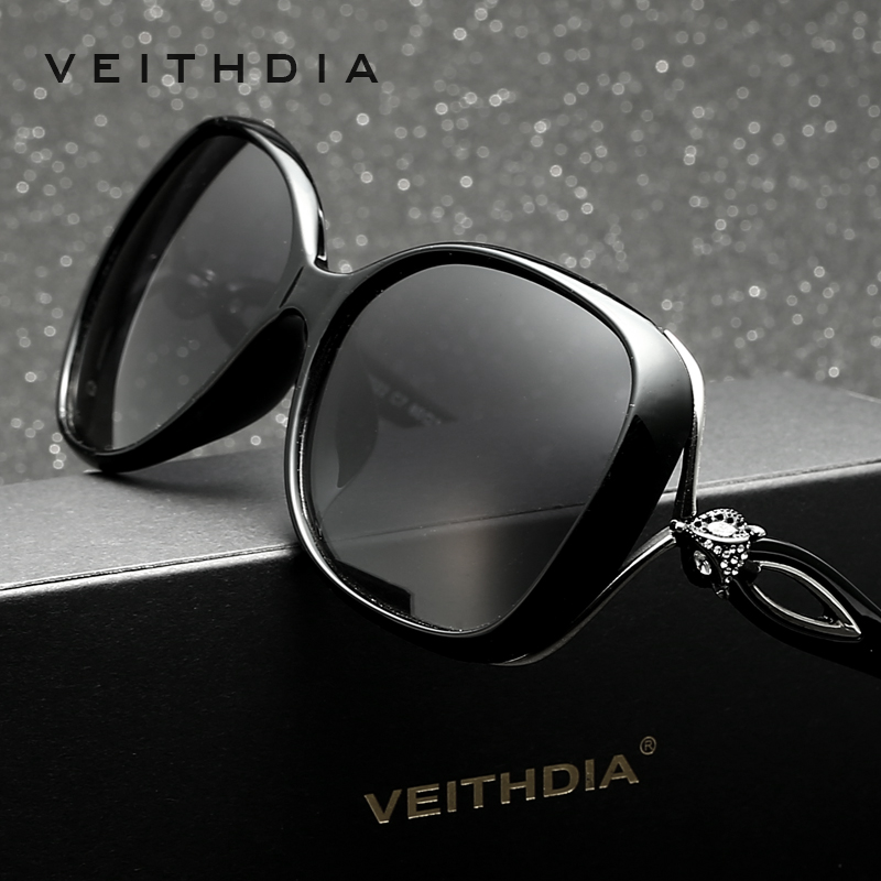 VEITHDIA Retro TR90 Driving Sun glasses Polarized Luxury Lad