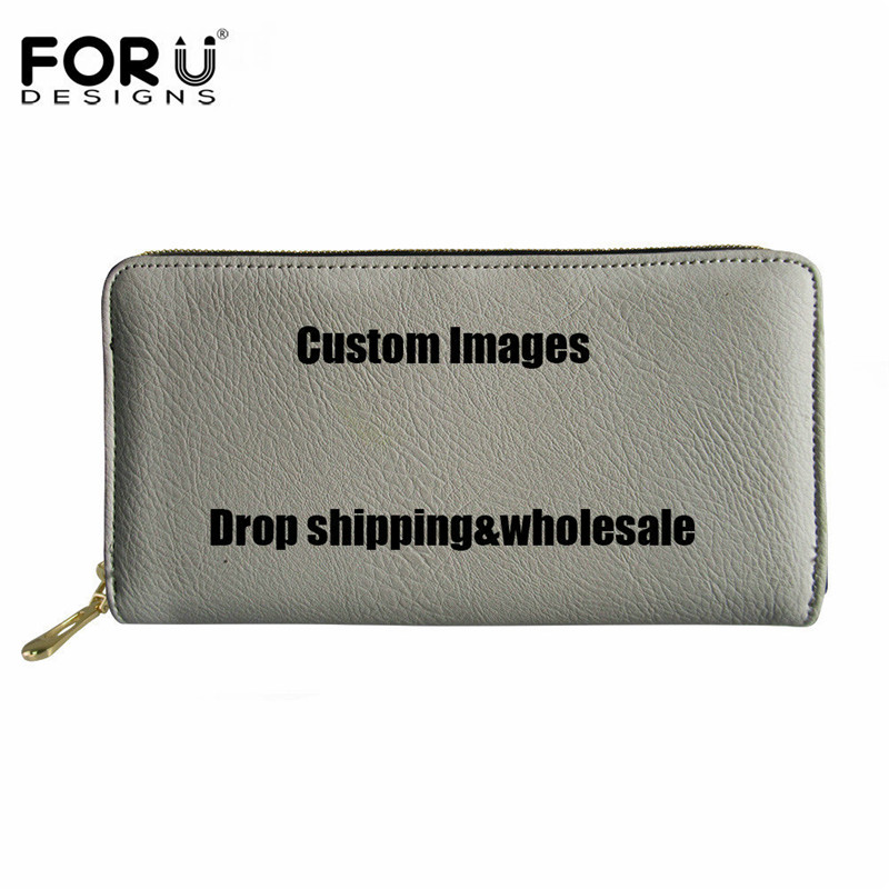 Women's Long Wallet Personality Customized Images