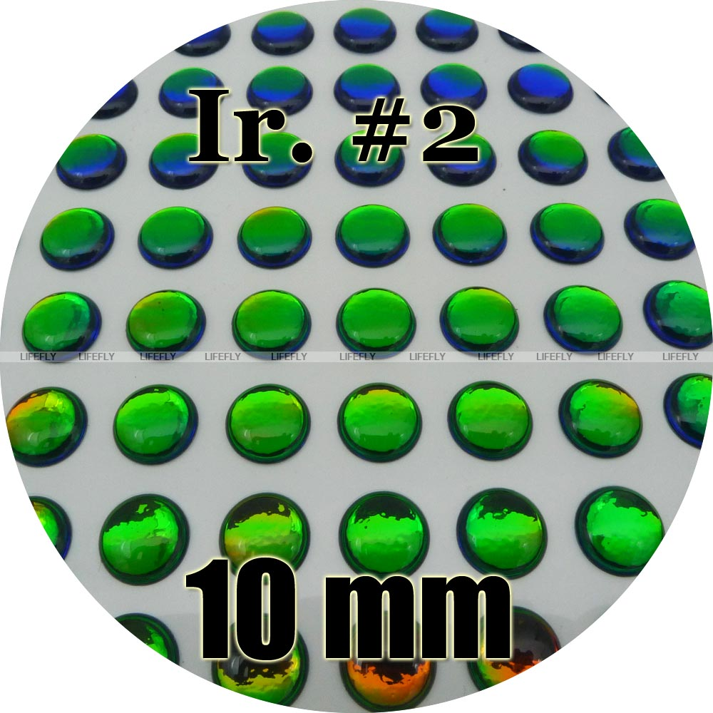 EPOXY ADHESIVE FLY TYING HOLOGRAPHIC. 3D Details about  /10MM TEARDROP FISH // FROG EYE