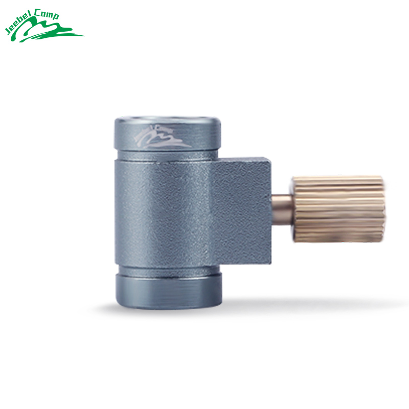 Jeebel GAS Saver Plus Lindal Valve Canister Shifter Refill Adapter Air Vent Function Gas Burner Camping Stove Cylinders