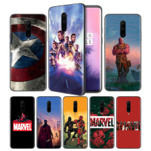Avengers Endgame Thanos Marvel Soft Black Silicone Case Cover for OnePlus 6 6T 7 Pro 5G Ultra-thin TPU Phone Back Protective
