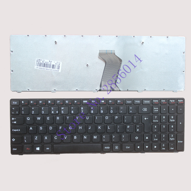 New for Lenovo G500 G505 G500A G505A G510 G700 G700A G710 G710A G500AM G700AT UK Laptop Keyboard new russian new keyboard for lenovo g500 g510 g505 g700 g710 g500a g700a g710a g505a ru laptop keyboard not fit g500s