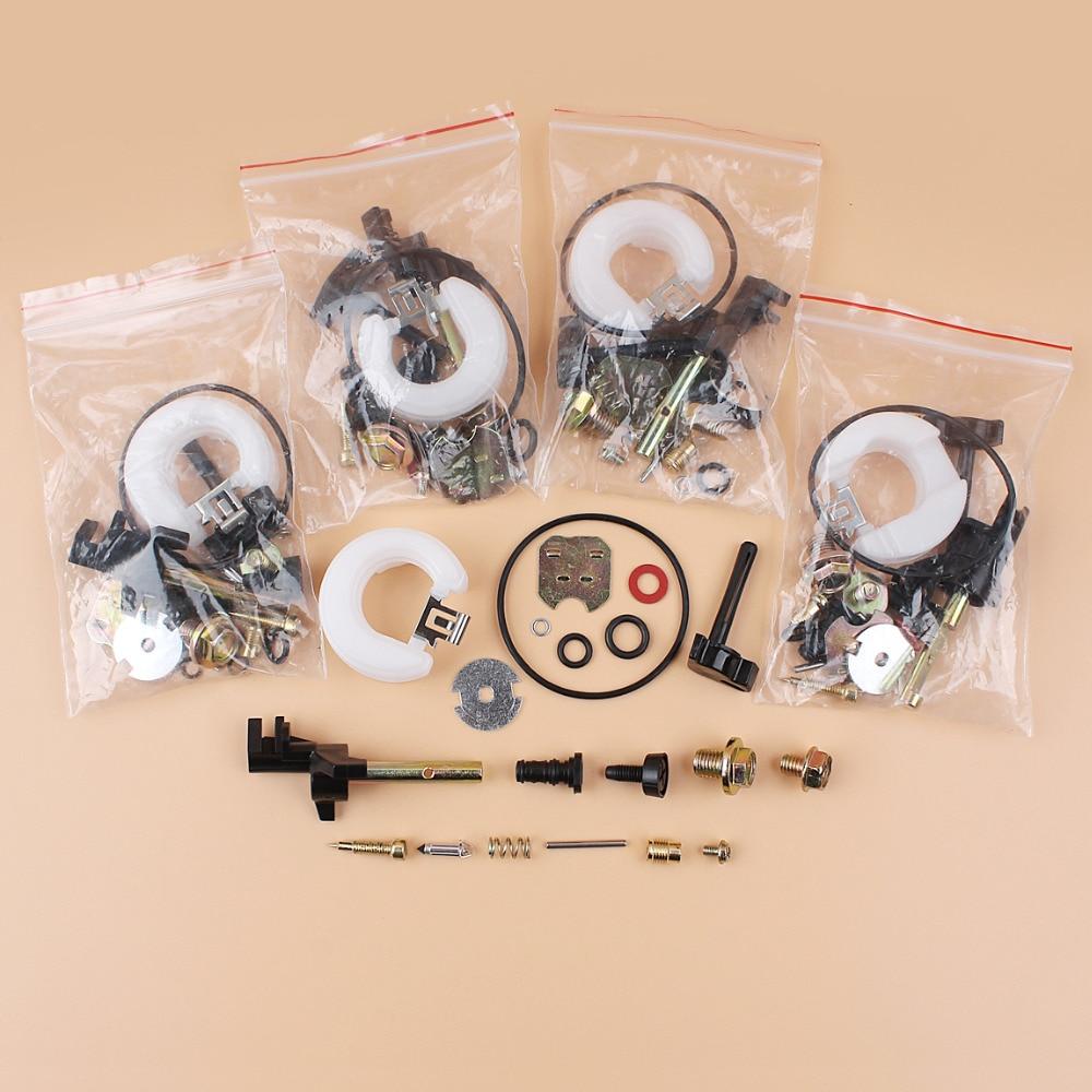 5Pcs lot Carburetor Rebuild Repair Kit For Honda GX120 GX160 GX200 GX 120 160 200 168 F 5 5HP 6 5HP Gas Engine Motors Generator