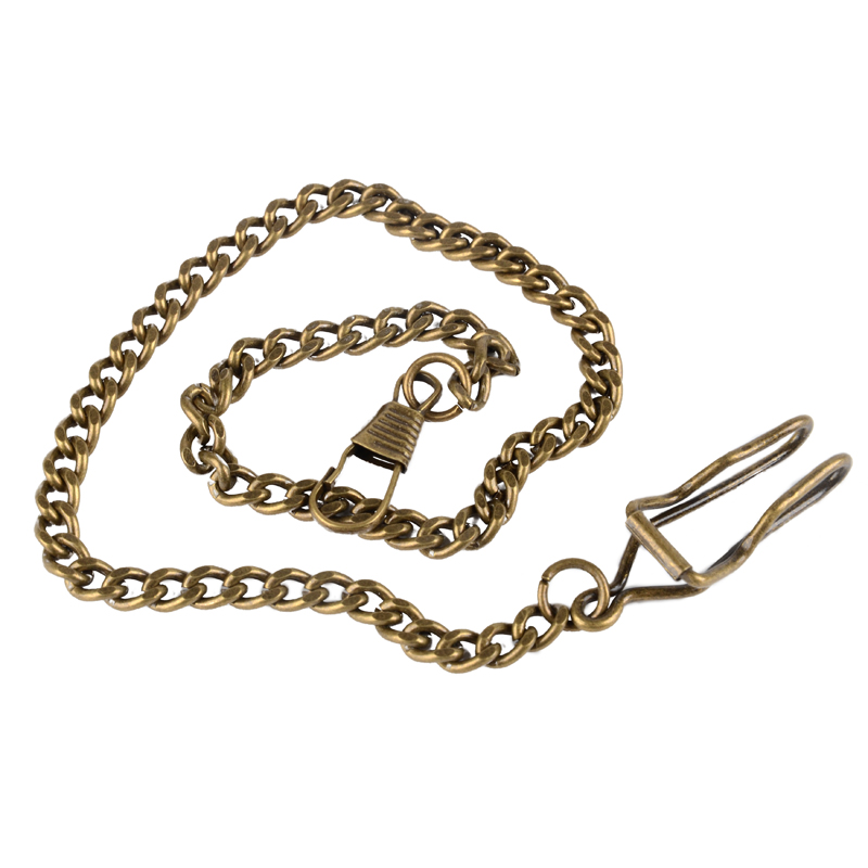 Watches ... Watch Accessories ... 32790826523 ... 3 ... Bronze/Silver Vintage Style 5 Color For Choice Retail Alloy Pocket Watch Holder Necklace Chain For Men Women Collares ...