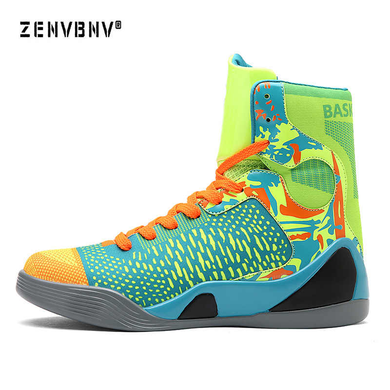 a974b44e0b7c Zenvbnv New Basketball Shoes Air Cushion Kobe Hombre Athletic Mens Shoes  Men High-top Sports