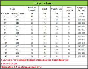 Image 2 - Football star Messi Printed Children Clothes set Kids Cotton Hoodies Trousers Boys Girls Casual Hooded Coat Harem Pants