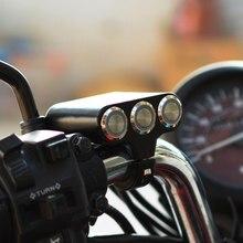 Мотоциклетные переключатели на руль, крепление на руль, фара, аварийный тормоз, противотуманная фара, вкл.-ВЫКЛ. Алюминиевый сплав с индикатором