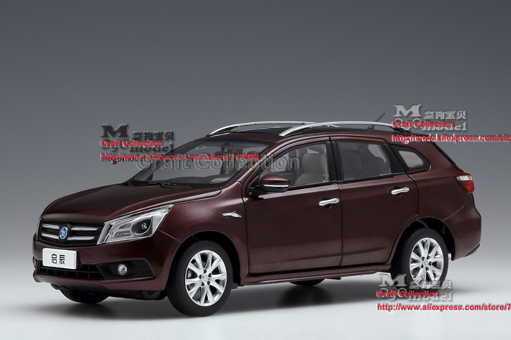 * 1:18 Dongfeng Nissan VENUCIA T70 SUV Metal Model Car Gifts Model Car Kits Simulation Model Limited edition Van Mini Bus