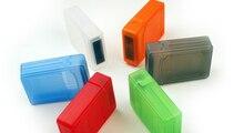 1xPC для 2 HDD 2.5 Пластиковые 2.5 дюймов Жесткий Диск HDD Storage Box Защитный Чехол