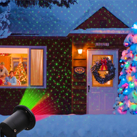 Outdoor Garden Lawn Stage Effect Light Fairy Sky Star Laser Projector Waterproof Landscape Park Garden Christmas Decorative Lamp