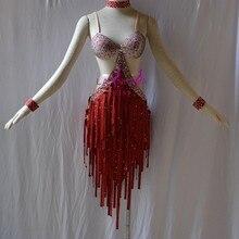 KAKA-L1531, Для женщин Одежда для танцев для девочек бахрома Латинской платье, сальса платье Танго Самба Румба Чача платье, Для женщин платье